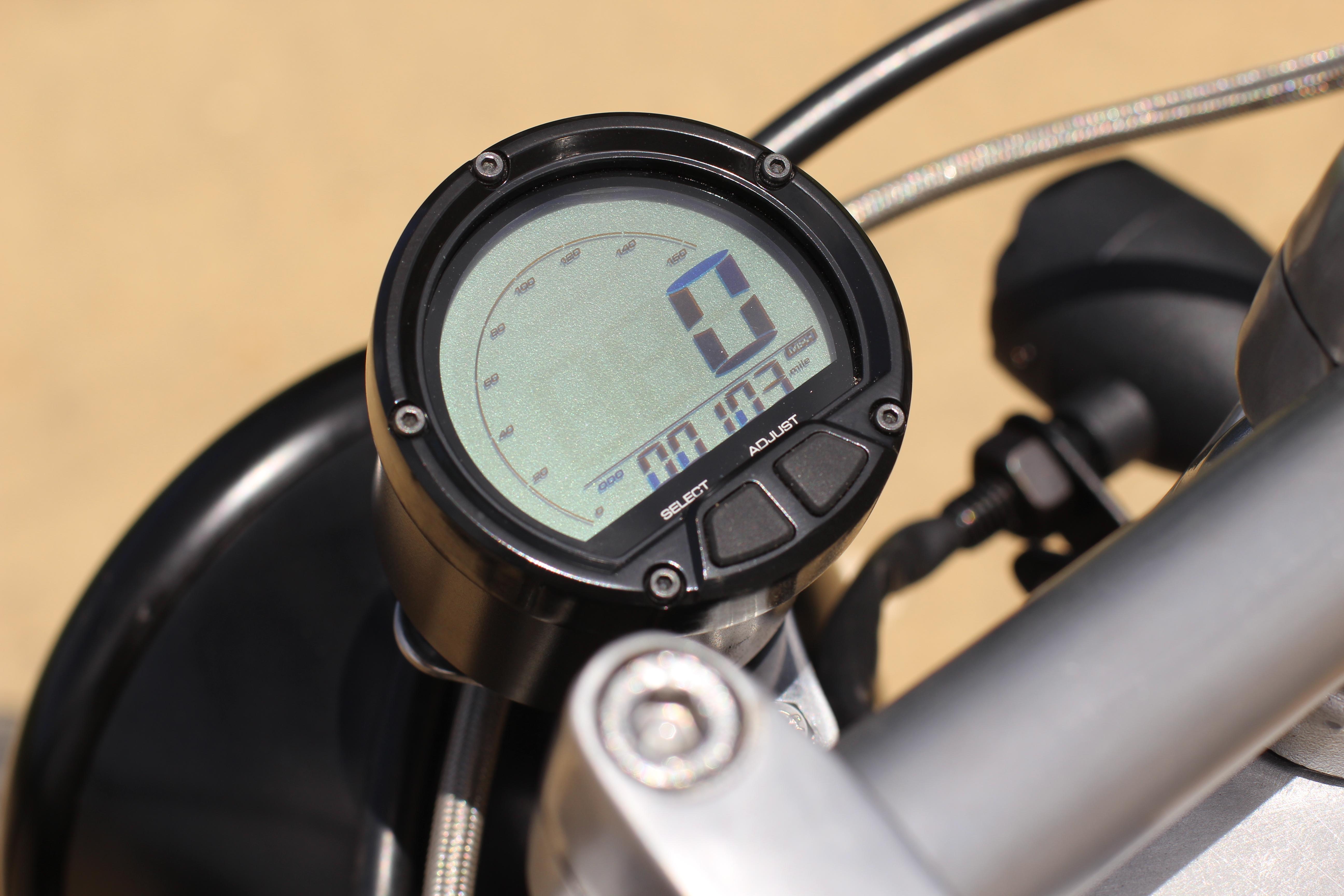 Honda VT 600 speedo