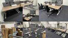 Installation Of Desking
