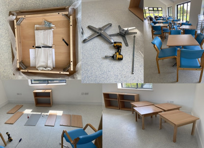 Installation and flat pack furniture
