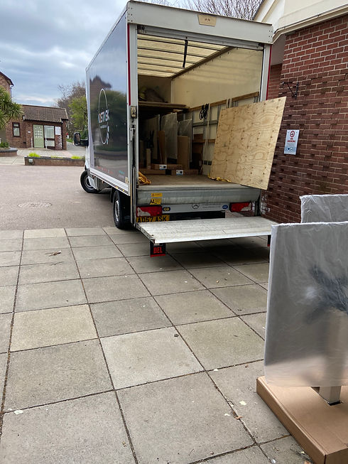 Delivery of Exterior Tables