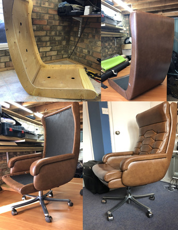 Re-Upholstery (Leather Hide)