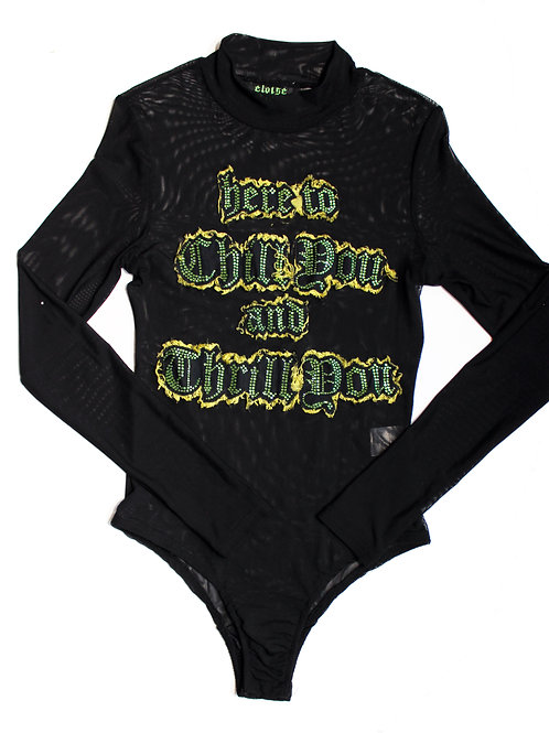 Chill and Thrill Bodysuit
