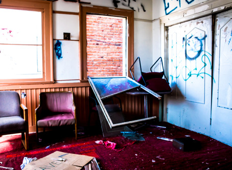 Abandoned Church II | Los Angeles, CA - Urbex with K