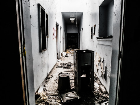 """Walking Into """"The Darkness"""" of Abandoned Places"""