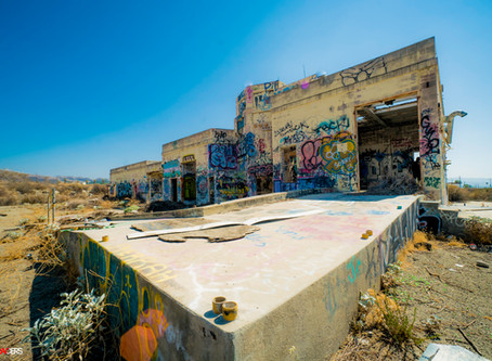Exploring an Abandoned Jet Propulsion Facility