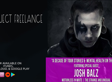 The Mental Health Issues of Touring - Josh Balz | Project Freelance