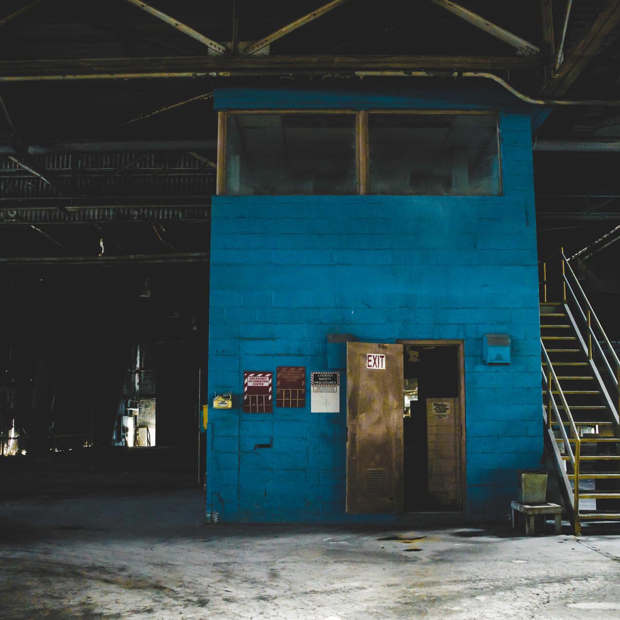 Abandoned Factory - Brunswick, GA-11