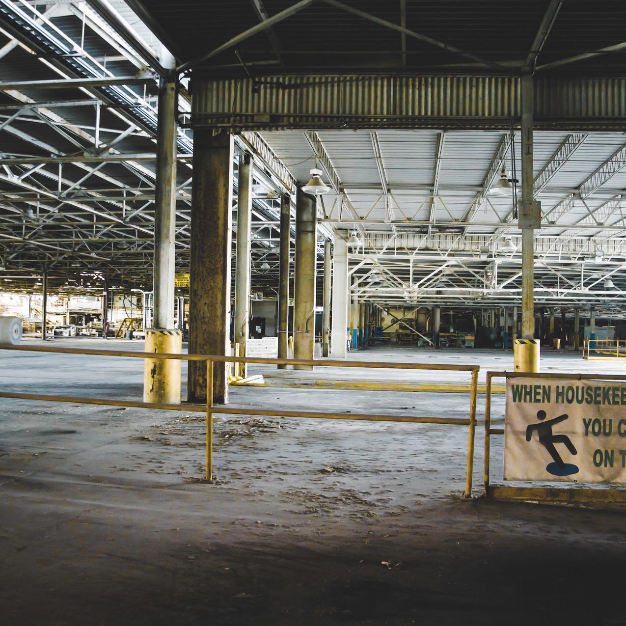 Abandoned Factory - Brunswick, GA-8