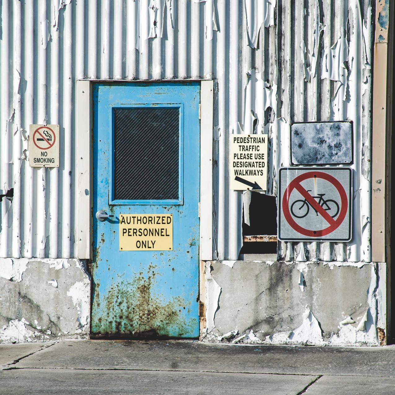 Abandoned Factory - Brunswick, GA-3