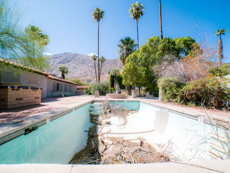Exploring an Abandoned Orchard Tree Inn | Palm Springs, CA
