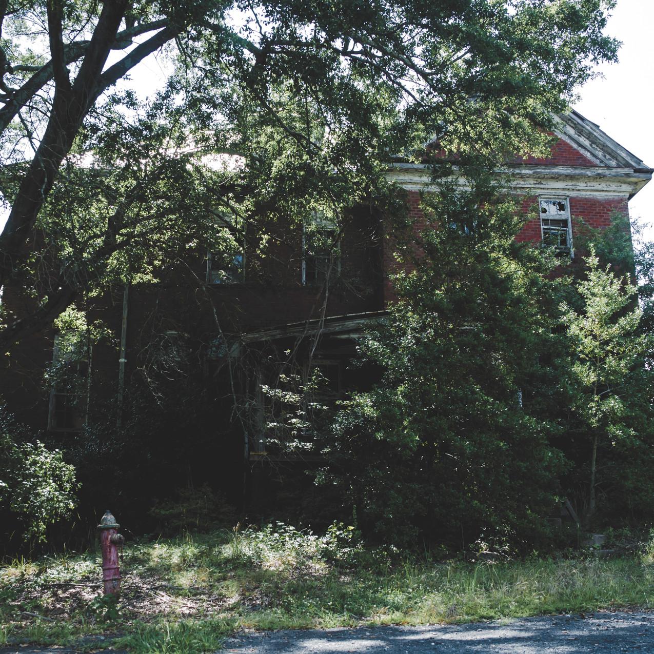 Abandoned Boys Prison - Charlotte, NC-1