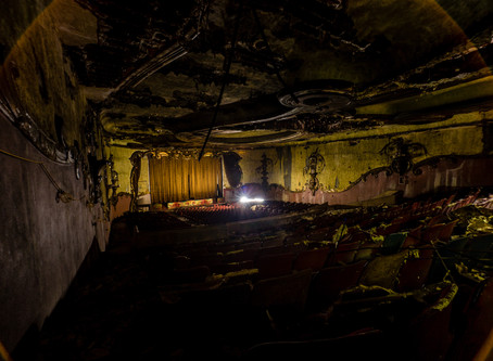 The Abandoned Movie Theatre