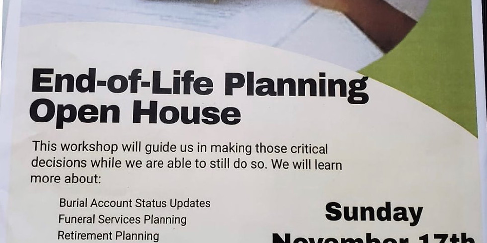 End-Of-Life Planning Open House