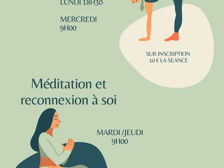 Yoga et méditation en plein air cet été
