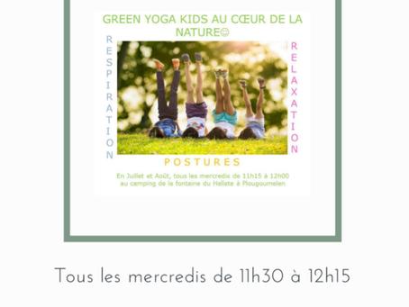 Cet été, initiation au Yoga pour les enfants !