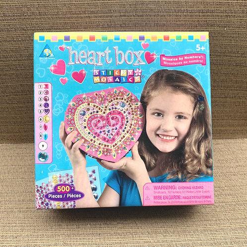 Heart Box Sticky Mosaic Kit