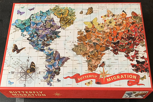 Butterfly Migration 1000 pc Puzzle