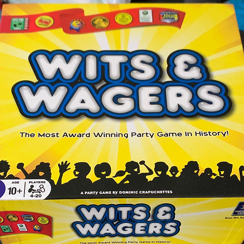 Wits & Wagers Party Game