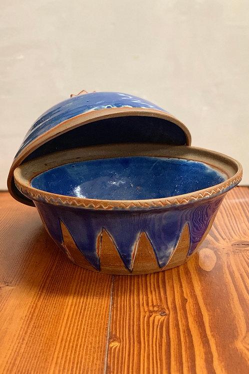 Handmade Terra Cotta Stoneware Crock