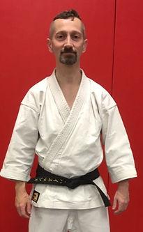 René Huysmans, trainer karate bij Chakin Shibori Dojo in Amsterdam