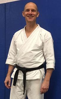 Wouter Schuller, trainer karate bij Chakin Shibori Dojo in Amsterdam