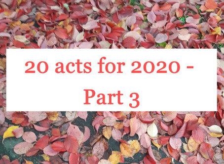 20 for 2020 - Part 3