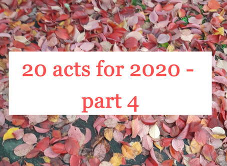 20 for 2020 - Part 4