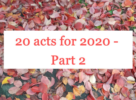 20 for 2020 - Part 2