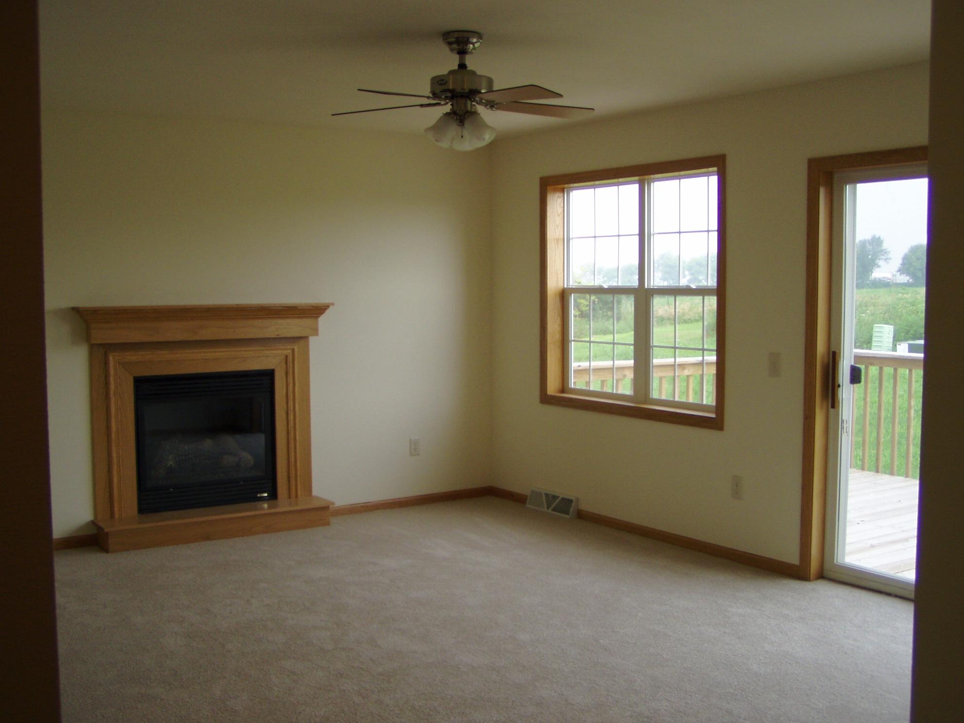 Mt Horeb Duplex Living Room