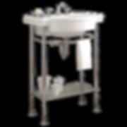 """American Standard 0282.008.222 Retrospect 27"""" Fireclay Pedestal Sink Only - Less Pedestal"""