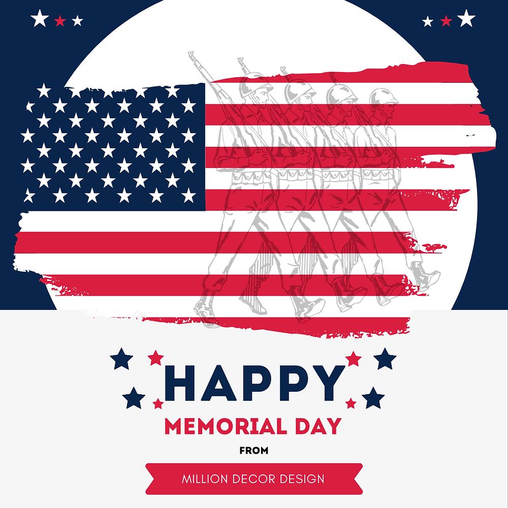 Happy Memorial Day Banner