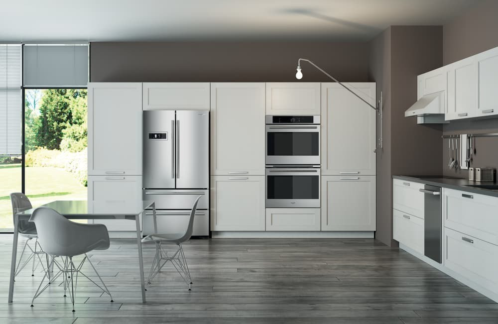 Fulgor Kitchen with French Door Refrigerator