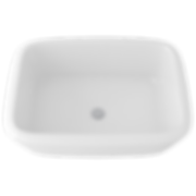 """Rohl 1532-00 20"""" Allia Undermount Vitreous China Bathroom Sink with Overflow"""