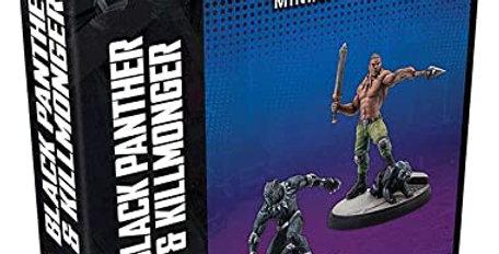 Black Panther and Killmonger