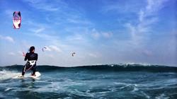 Swing Kiteboarding - Bruce at Sards