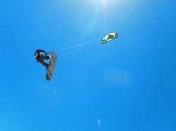 Swing Kiteboarding - Jump over