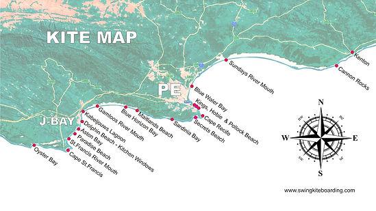 SWING KITEBOARDING - map 2