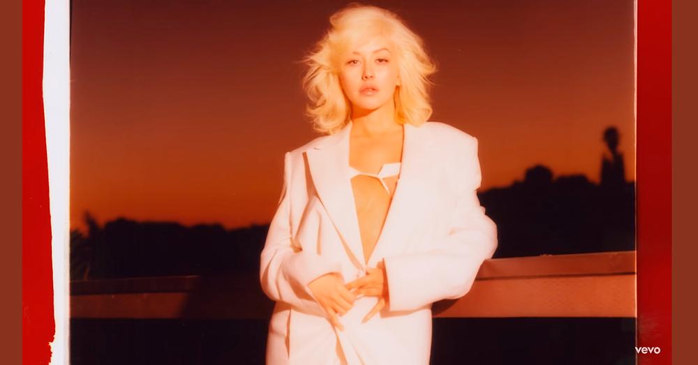 Christina Aguilera lança nova música
