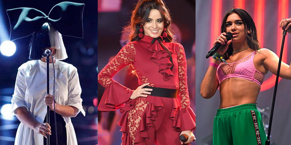 As cantoras com mais streams no Spotify Global: Camila Cabello, Dua Lipa e Sia