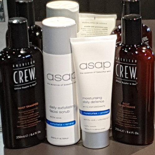 Limited Edition Men's Face & Hair Pack
