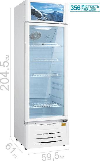 Холодильна вітрина PSC 201 MW