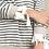 Thumbnail: Tie Cuff Stripe Top