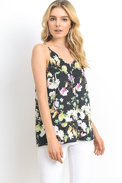 Easy to Love Floral Tank