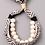 Thumbnail: Black & Ivory Adjustable Bracelet