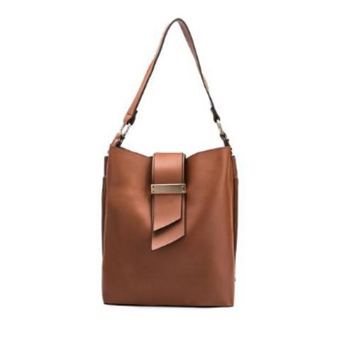 """Saddle Tan Glamorous """"IT"""" bag"""