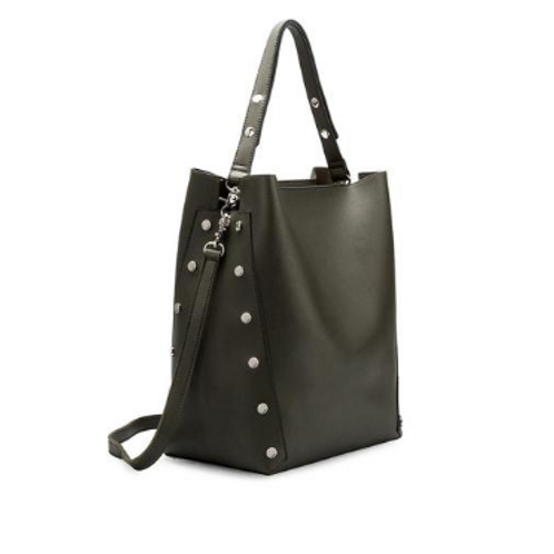Olive shoulder double handbag