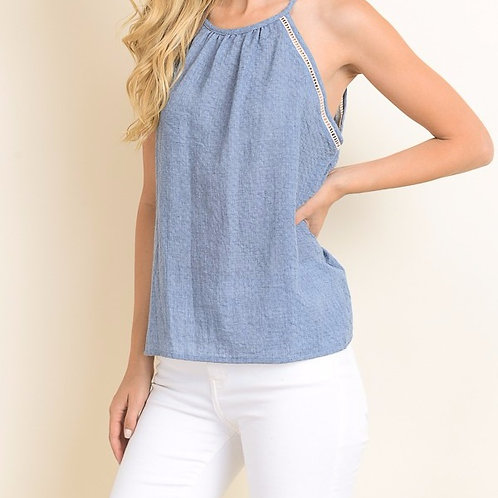Hooked on Denim Tank