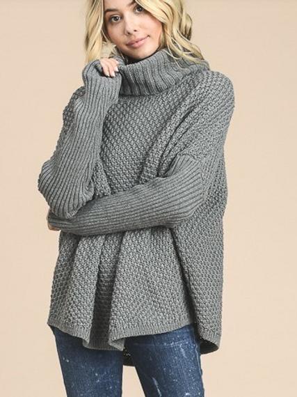 Keep Me Warm Chunky Sweater