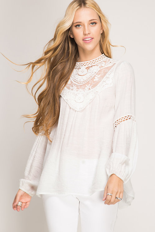 All About Elegance Top