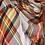 Thumbnail: Plaid oversized blanket scarf